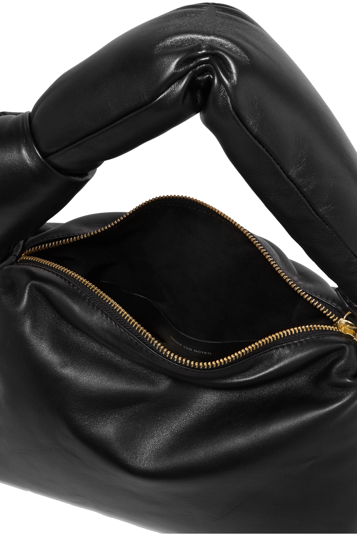 Dries Van Noten Padded leather tote