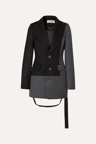 two-tone-paneled-wool-twill-blazer by loewe