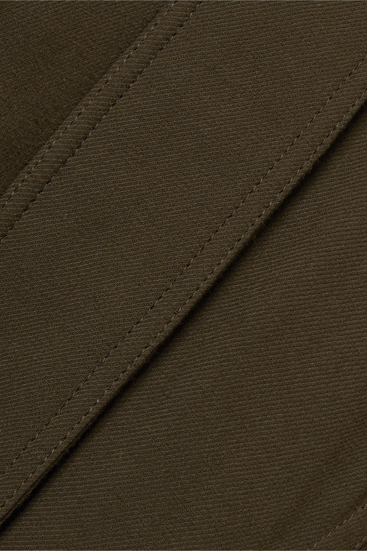 Loewe Two-tone twill jumpsuit