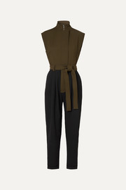 Loewe Two-tone twill jumpsuit