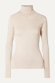 Net of Antrea stretch-jersey turtleneck top
