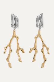 Chloé Bonnie gold and silver-tone earrings