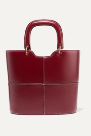Andy paneled leather tote