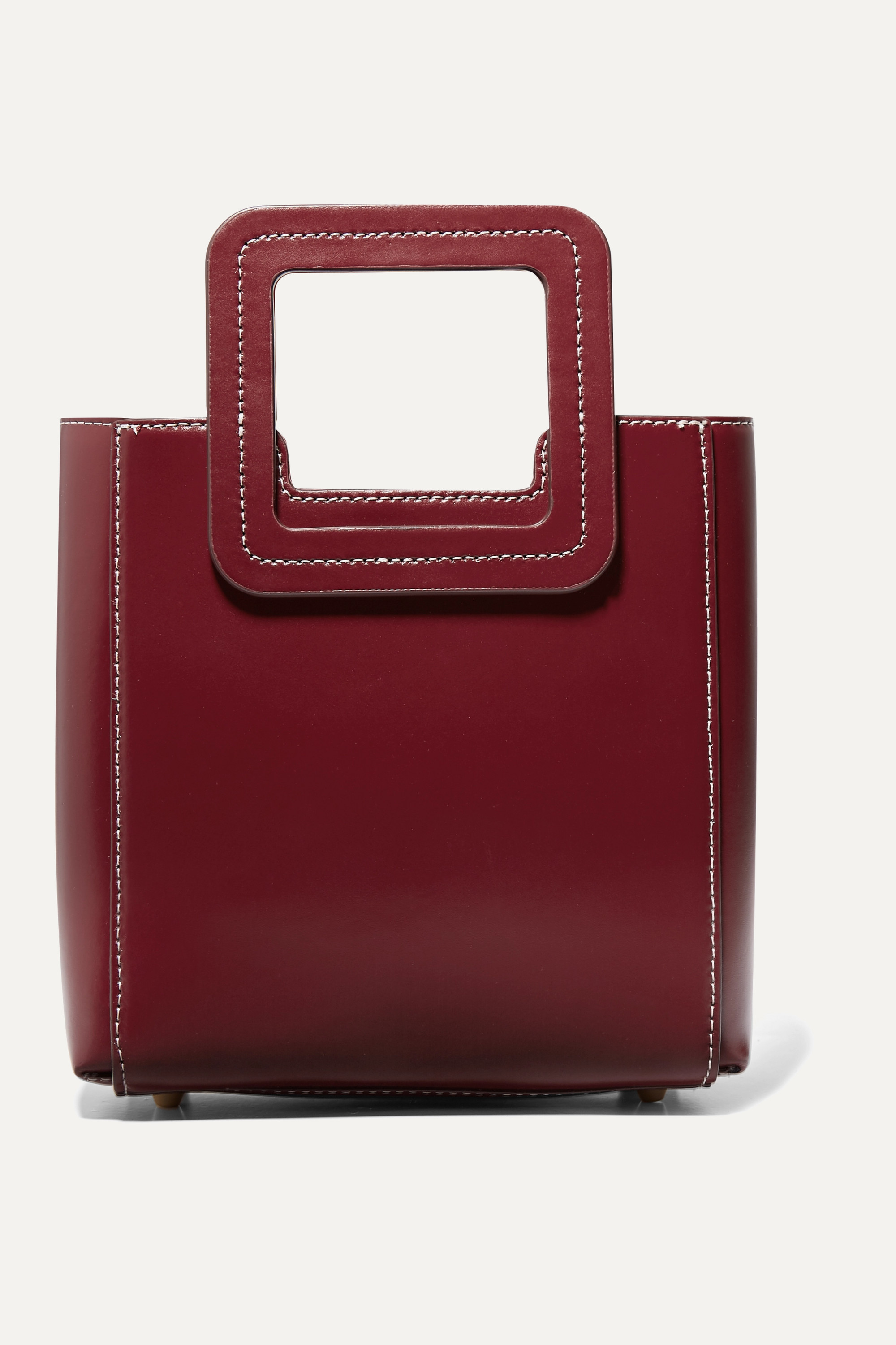 STAUD Shirley mini leather tote
