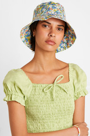 Faithfull The Brand Floral-print cotton-canvas bucket hat