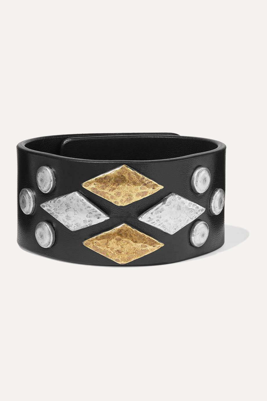 Isabel Marant Studded leather bracelet
