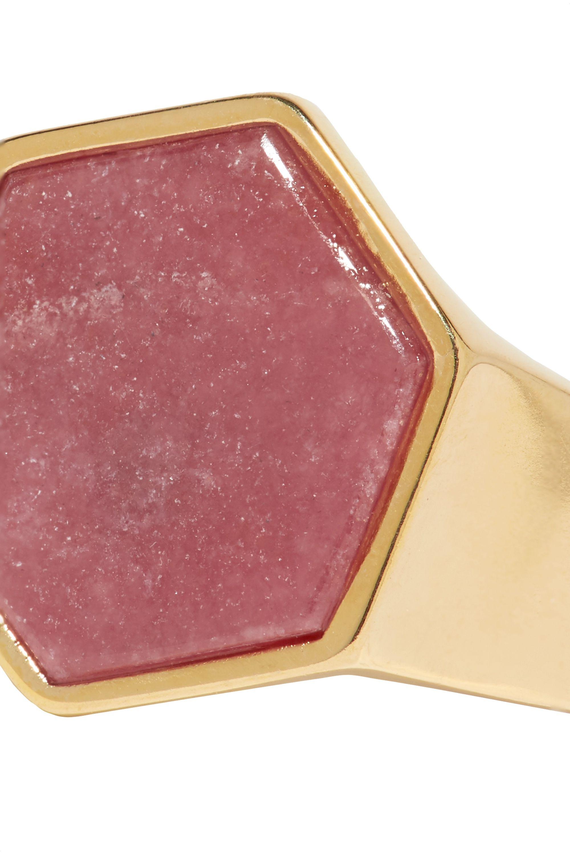 Isabel Marant Golden Mother gold-tone zoisite ring