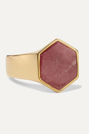 Isabel Marant Golden Mother gold-tone zoisite ring