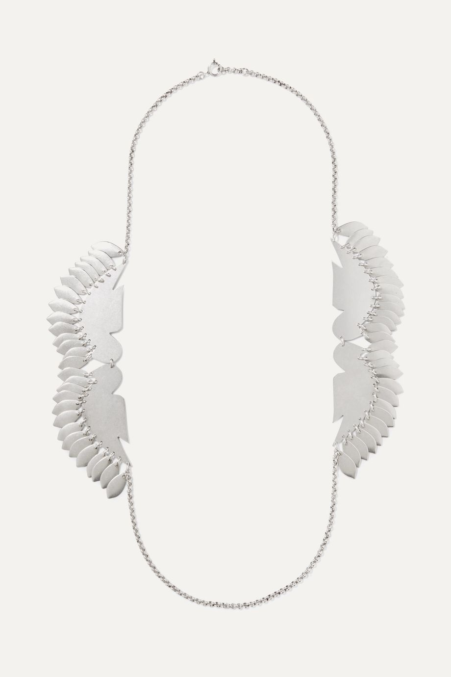 Isabel Marant Birdy silver-tone necklace