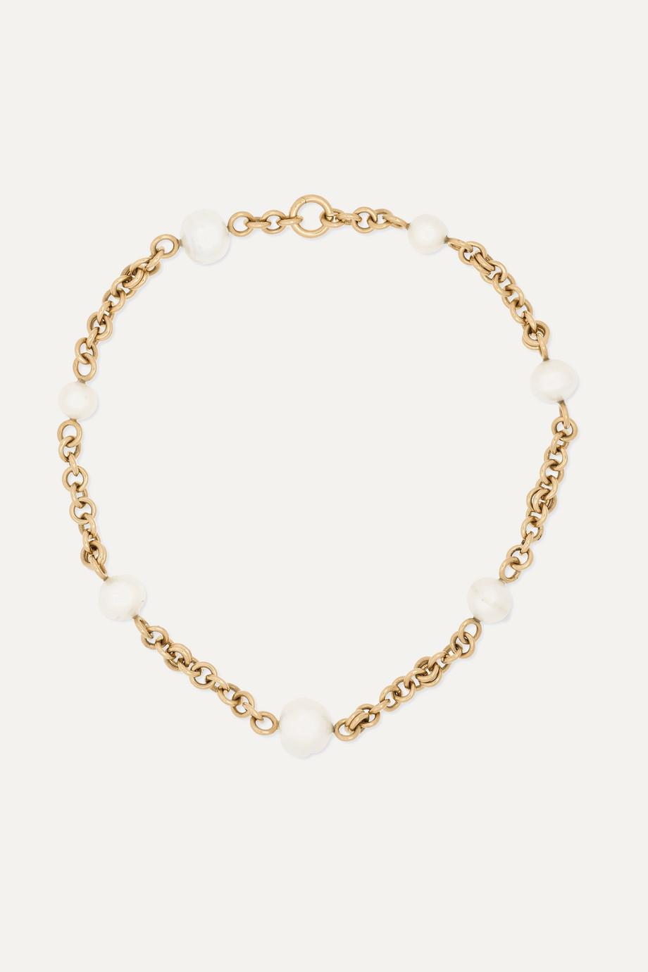 Spinelli Kilcollin Varuna 18-karat gold pearl necklace