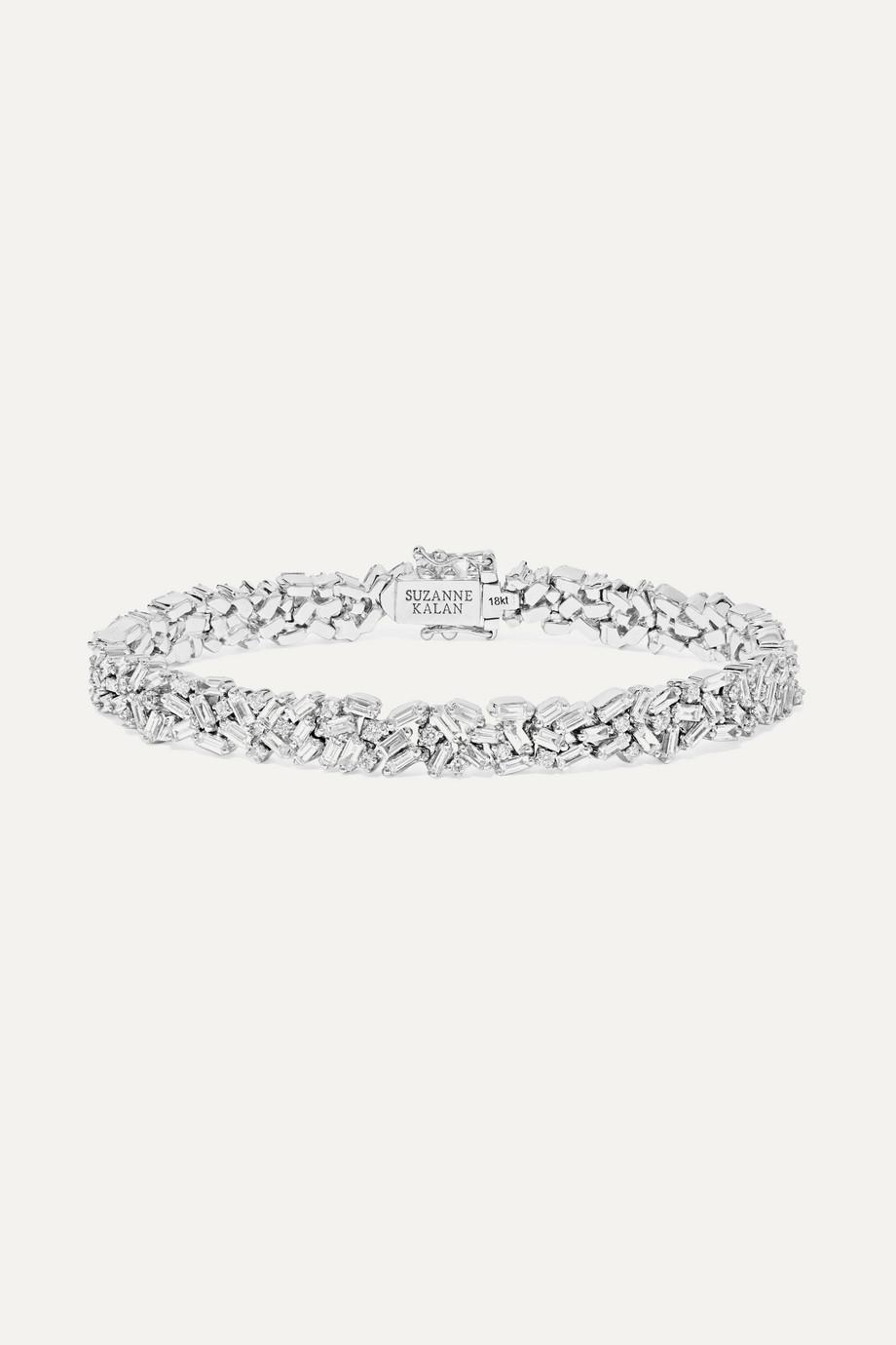 Suzanne Kalan Armband aus 18Karat Weißgold mit Diamanten