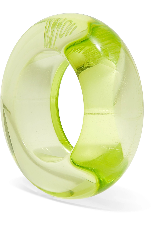 Dries Van Noten Perspex ring