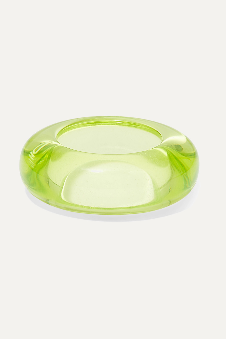 Dries Van Noten Perspex ring