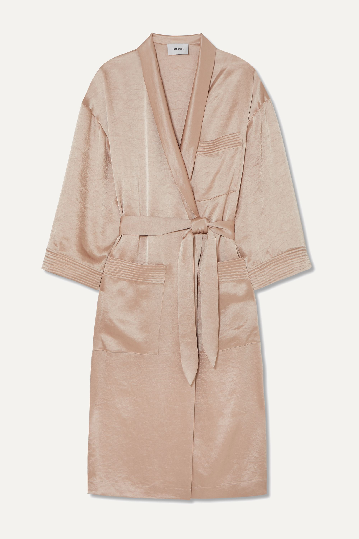 Nanushka Hammered-satin robe