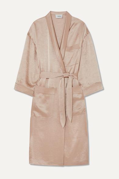 Nanushka Accessories Hammered-satin robe