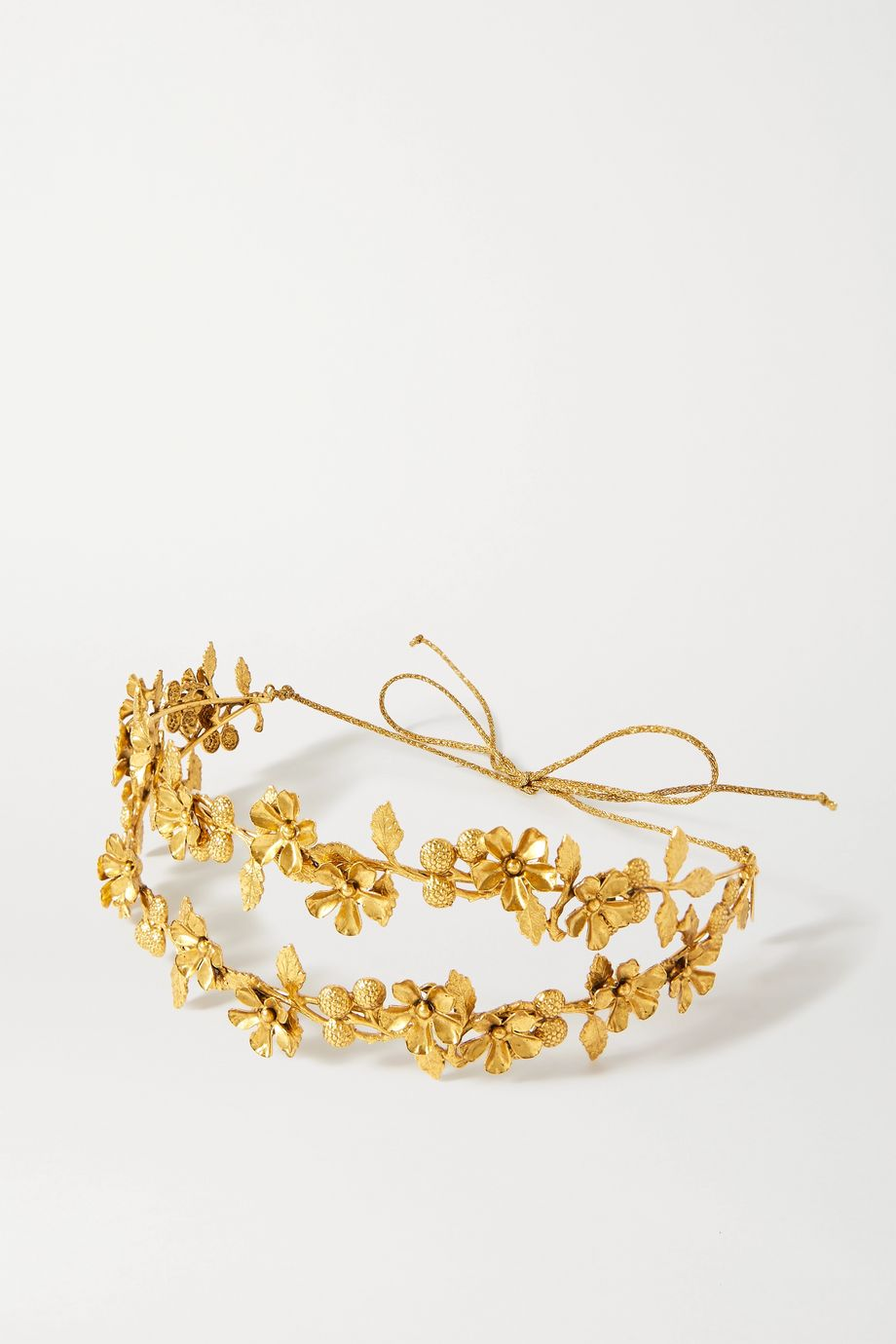 Jennifer Behr Adele gold-tone headband