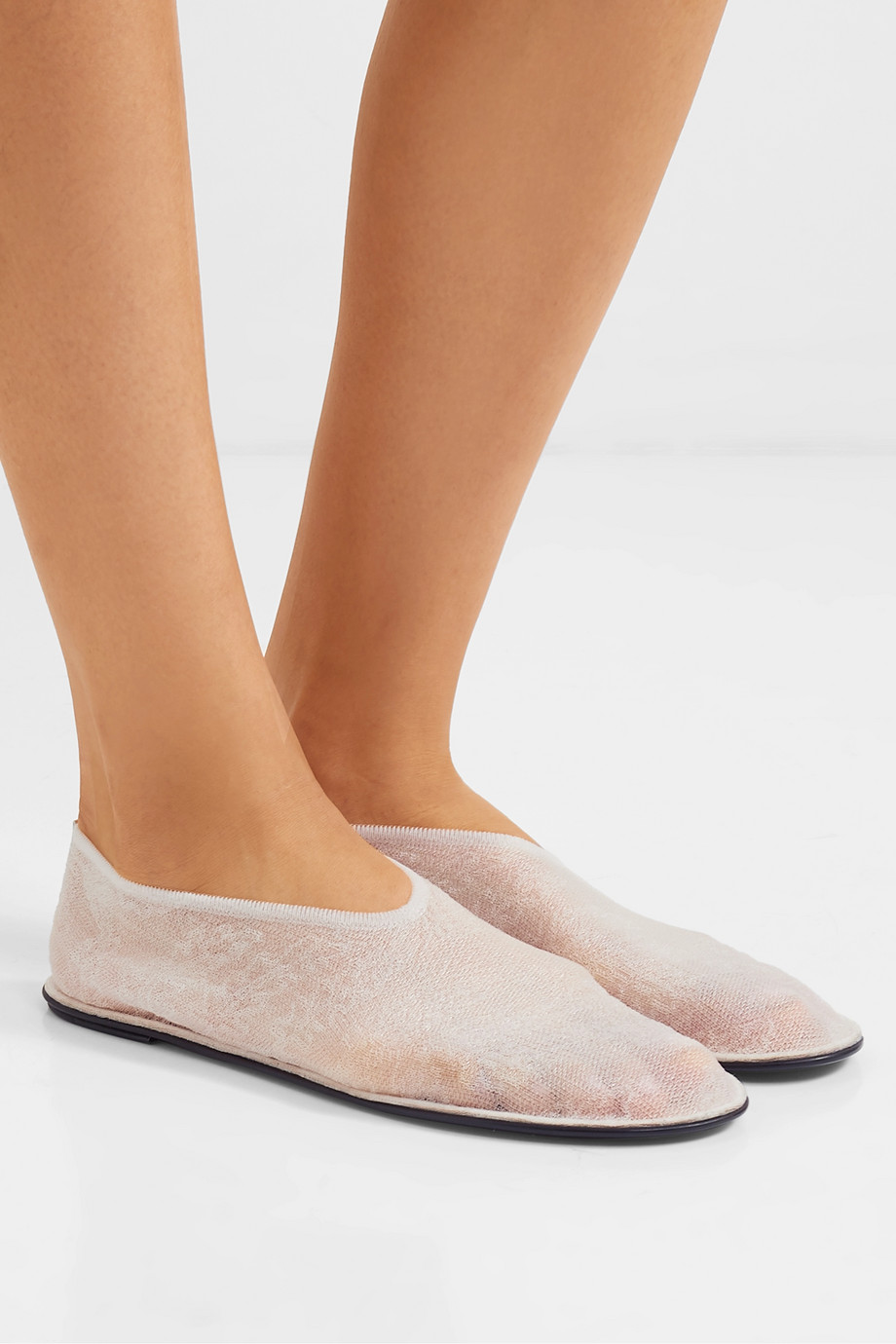 The Row Mesh slippers