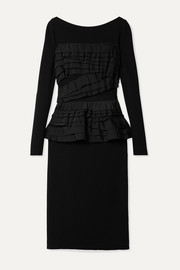 Jason Wu Collection Ruffled stretch-jersey dress