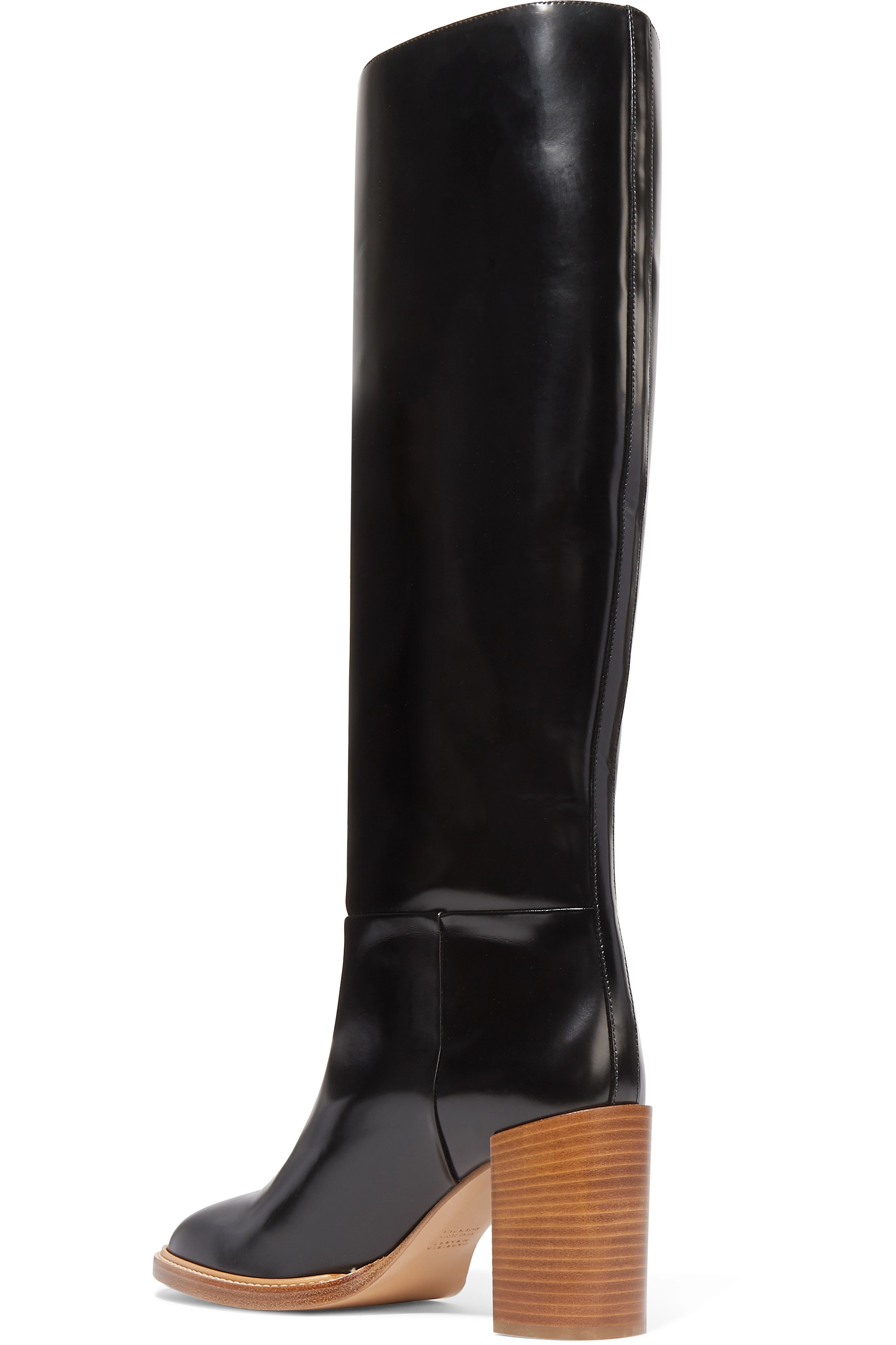 Gabriela Hearst Bocca leather knee boots