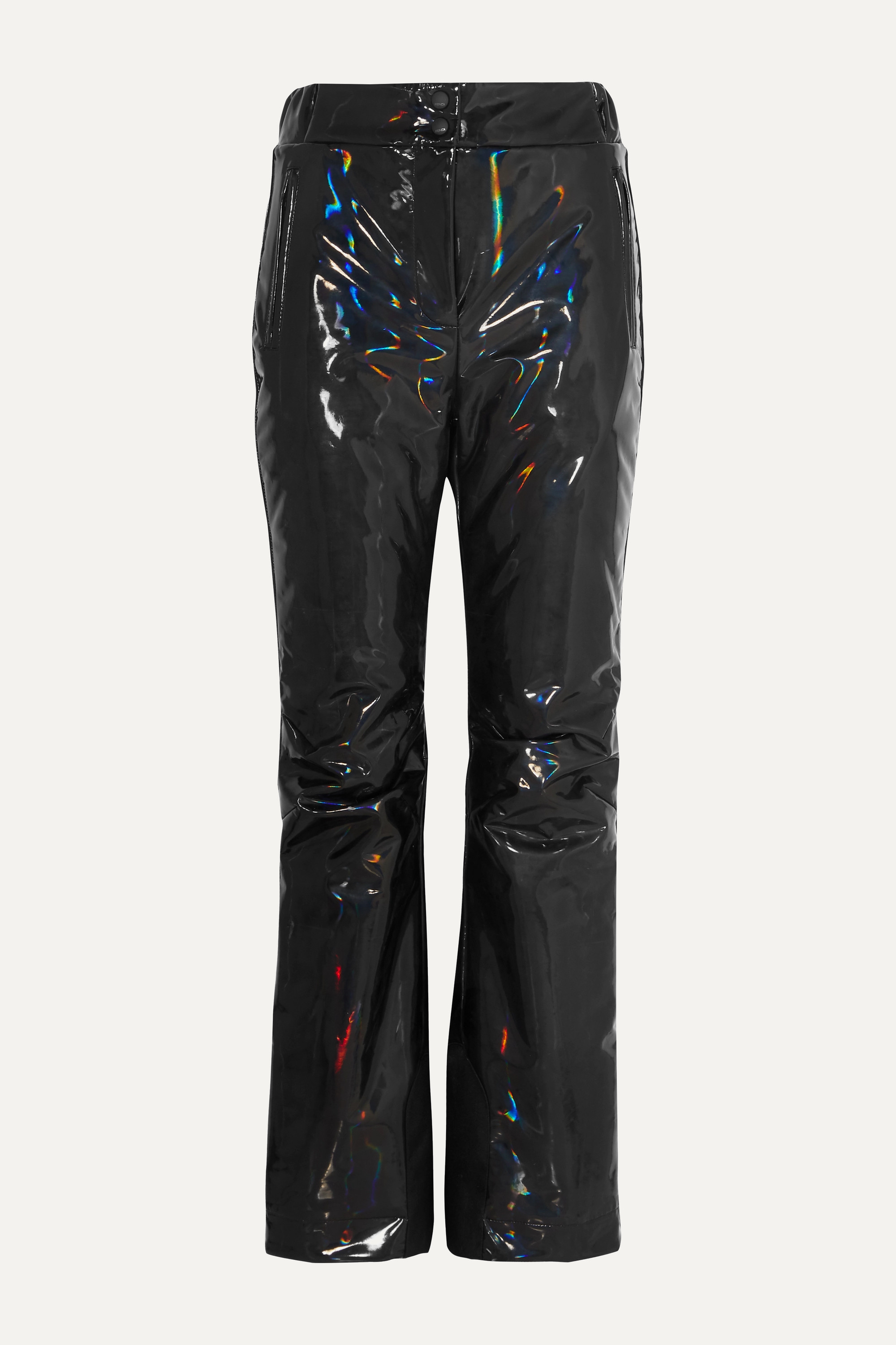 Fendi Appliquéd holographic padded ski pants