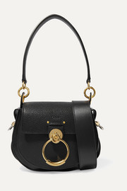 Chloé Tess small textured-leather shoulder bag