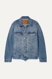 Vetements Distressed denim jacket