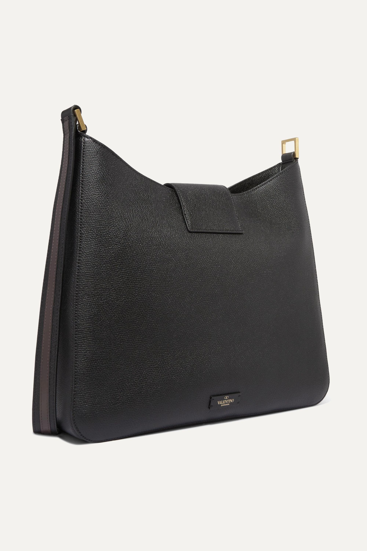 Valentino Valentino Garavani VSLING textured-leather shoulder bag
