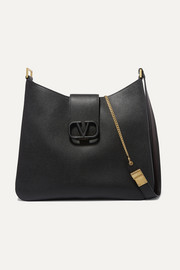 Valentino Garavani VSLING textured-leather shoulder bag