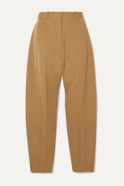Victoria Beckham Wool-twill tapered pants