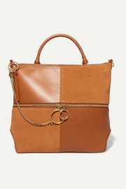 See By Chloé Emy leather and suede shoulder bag