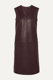 Gwen leather dress