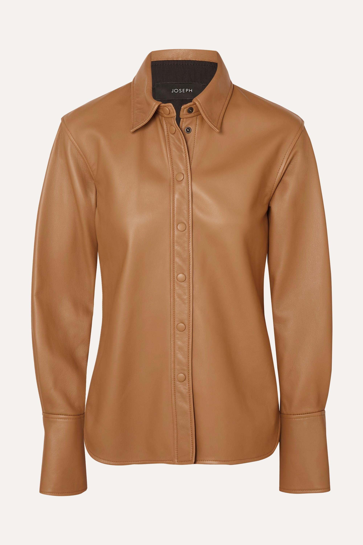 Joseph Brann leather shirt