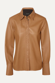 Joseph Brann leather shirt