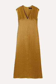 Joseph Donall silk-satin midi dress