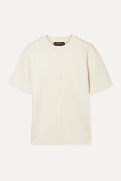 Joseph Jersey T-shirt In Cream