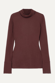 Joseph Jersey turtleneck top