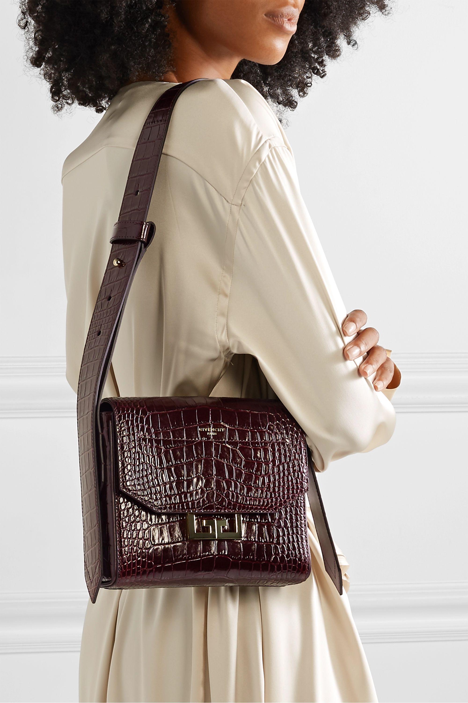 Givenchy Eden small croc-effect leather shoulder bag