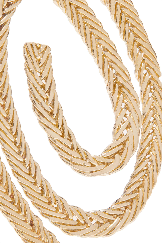 STVDIO Delfina gold-tone pearl earrings