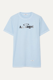 BLOUSE An Angel cotton-jersey T-shirt