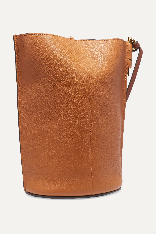 Loewe Gate textured-leather bucket bag