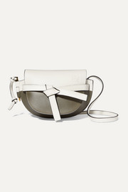 Loewe Gate mini two-tone leather shoulder bag