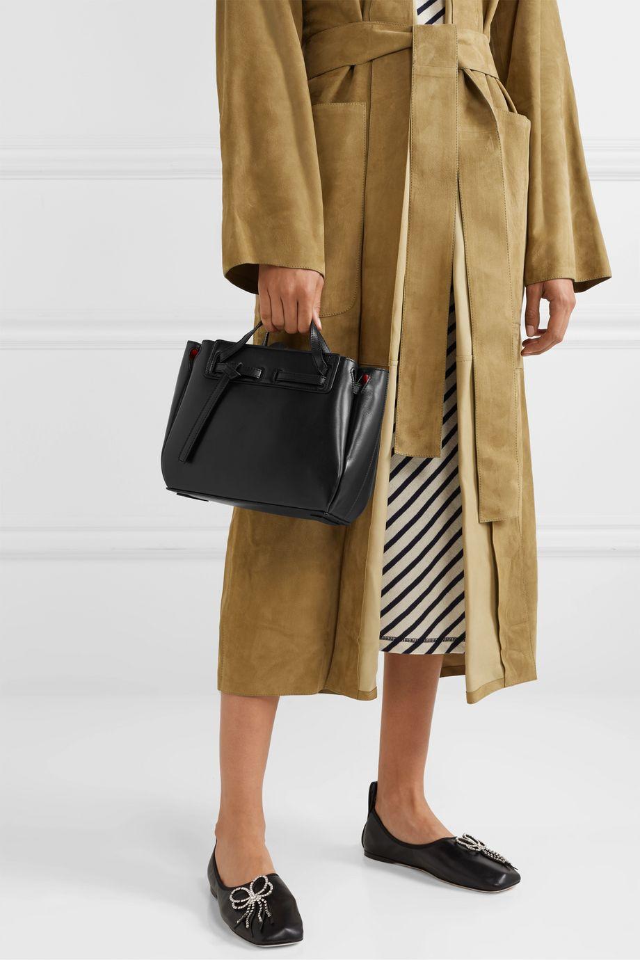 Loewe Lazo mini leather tote