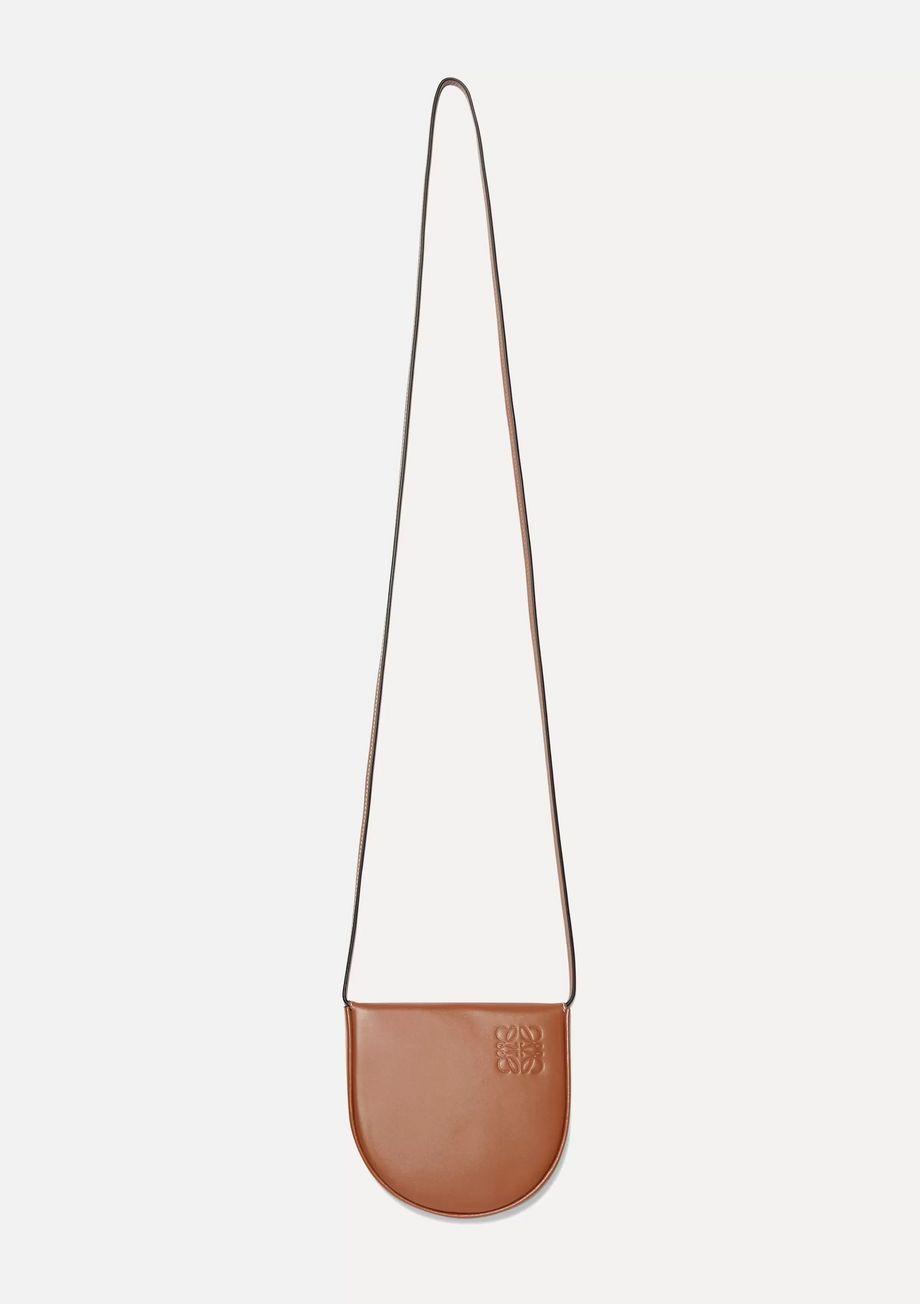 Loewe Heel mini leather pouch