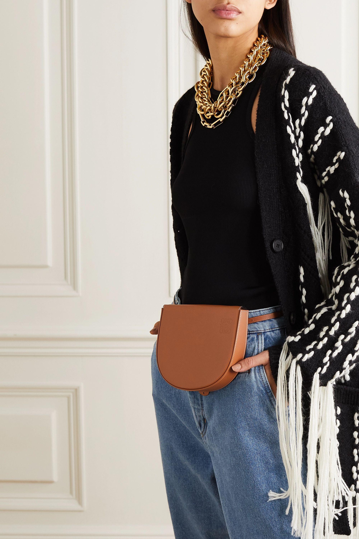 Loewe Heel leather belt bag