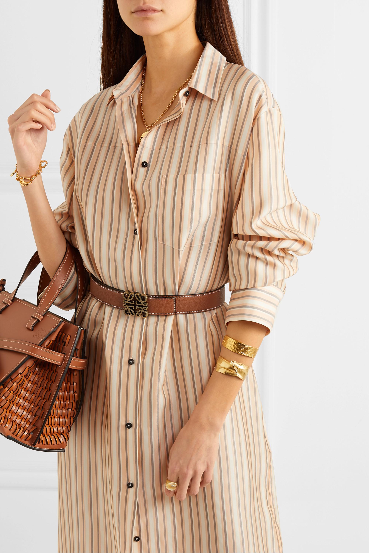 Loewe Textured-leather belt