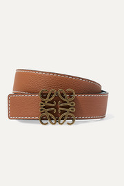 Loewe Textured-leather belt