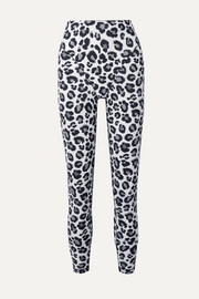 Adam Selman Sport Leopard-print stretch leggings