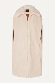 마쥬 MAJE Gladice faux shearling coat