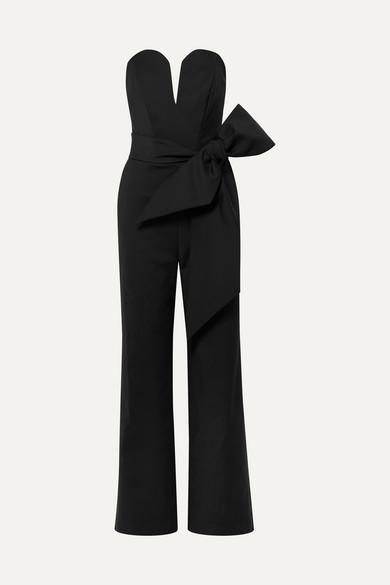 Lover belted cady jumpsuit