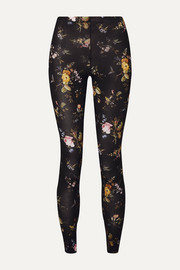 R13 Floral-print stretch-jersey leggings
